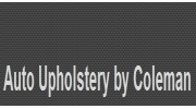Coleman's Upholstery